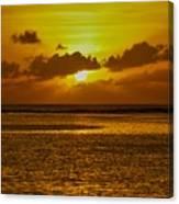 Guam Sunset Canvas Print