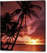 Guam, Tumon Bay Canvas Print