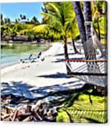 Guana Hammock Canvas Print