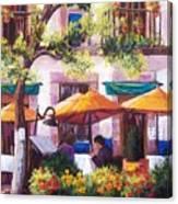 Guanajuato Cafe Canvas Print