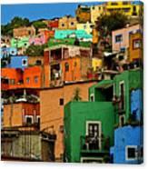 Guanajuato Hillside 1 Canvas Print