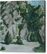 Guardando In Alto Canvas Print