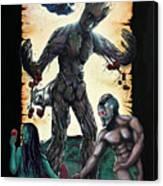 Guarden Of Eden Or Guardians Of Eden Original Available Canvas Print