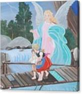 Guardian Angel Donated Canvas Print