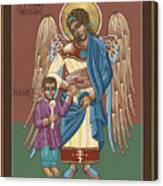 Guardian Angel Guarding Little Elijah Gemmell 191 Canvas Print