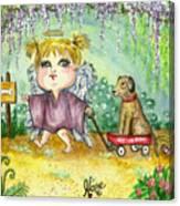 Guardian Angel Kindness Canvas Print