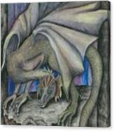 Guardian Dragon Canvas Print
