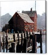 Guardian Of The Harbor Canvas Print