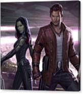 Guardians Of The Galaxy Vol. 2 Canvas Print
