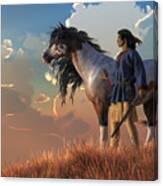 Guardians Of The Plains Canvas Print