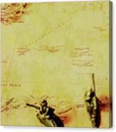 Guarding Histories Untold Canvas Print