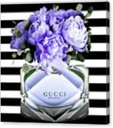 Gucci Perfume Violet Canvas Print