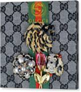 Gucci With Jewelry Canvas Print
