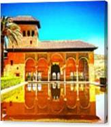 Guest House At The Alhambra Canvas Print