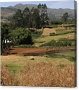 Guge Mountain Range Southern Ethiopia Canvas Print