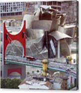 Guggenheim Bilbao Museum II Canvas Print