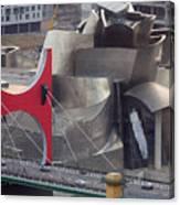 Guggenheim Bilbao Museum IIi Canvas Print