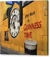 Guinness Beer 2 Canvas Print