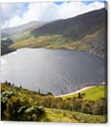 Guinness Lake In Wicklow Mountains  Ireland Canvas Print