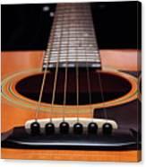 Guitar 12 Canvas Print