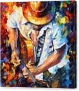 Guitar And Soul Canvas Print