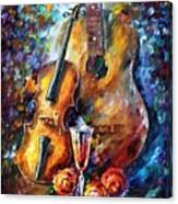 Guitar And Violin Canvas Print