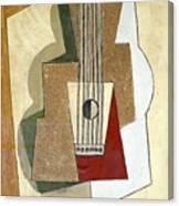 Guitar, By Pablo Picasso, 1919, Kroller-muller Museum, Hoge Velu Canvas Print