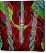 Guitar Fantasy Four Canvas Print