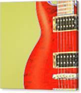 Guitar Pic Canvas Print