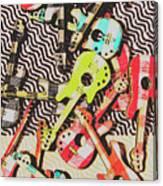 Guitar Playtime Canvas Print