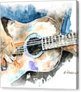 Guitar Riffs... Canvas Print