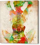 Guitar Siren Canvas Print