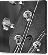 Guitar Study A Canvas Print