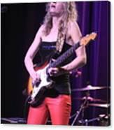 Guitarist Ana Popovic Canvas Print