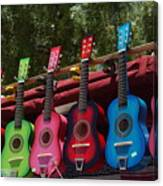 Guitars In Old Town San Diego Canvas Print