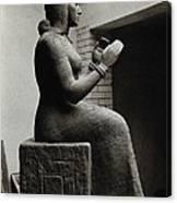 Gula, Mesopotamian Goddess Of Healing Canvas Print