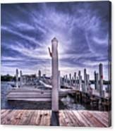 Gulf Coast Blues Canvas Print