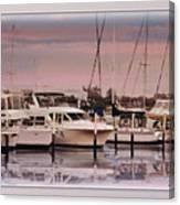 Gulf Coast Dock Canvas Print