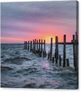 Gulf Coast Sunrise Canvas Print