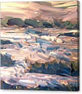Gulf Island Sunset Canvas Print