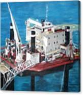 Gulf Marine Services - Naashi Canvas Print