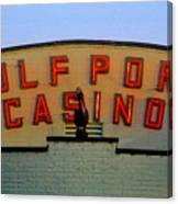 Gulfport Casino Canvas Print