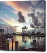 Gulfport Harbor Colors Canvas Print