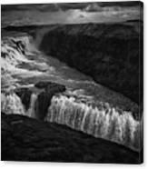 Gullfoss Waterfall Canvas Print