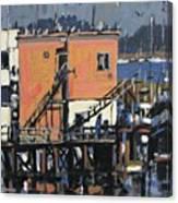 Gulls Aloft Canvas Print