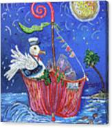 Gull's Bounty Canvas Print