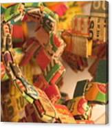 Gumball Chain Canvas Print
