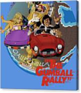Gumball Rally Canvas Print
