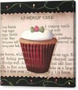 Gumdrop Cupcake Canvas Print