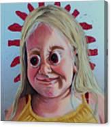 Gummy Eyes Swedish Fish Canvas Print